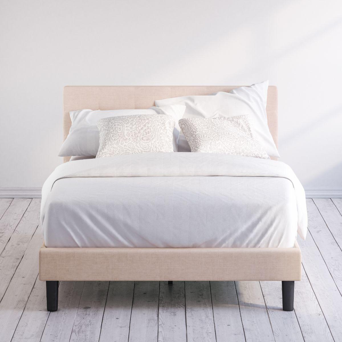 Ibidun upholstered platform bed frame
