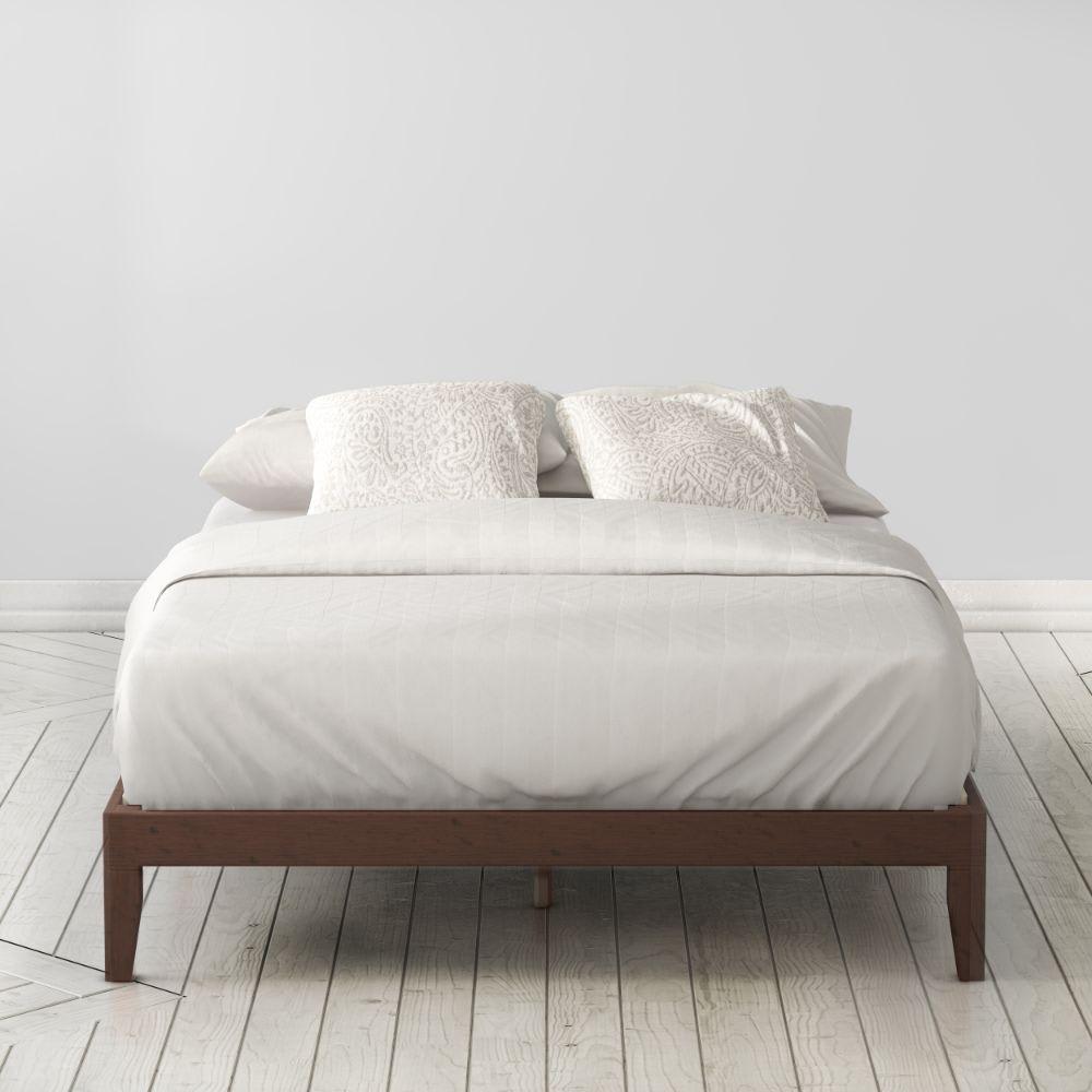 marissa wood platform bed frame
