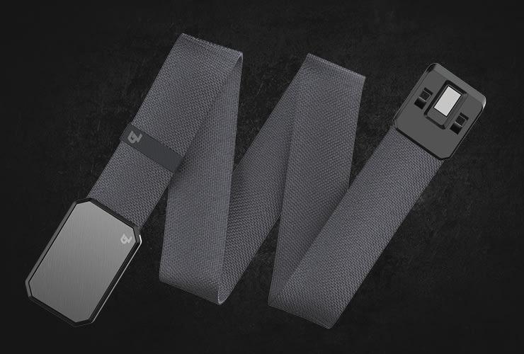 Groove Life Deep Stone Grey/Gun Metal belt