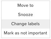change labels gmail