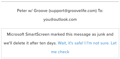 outlook add to safe list