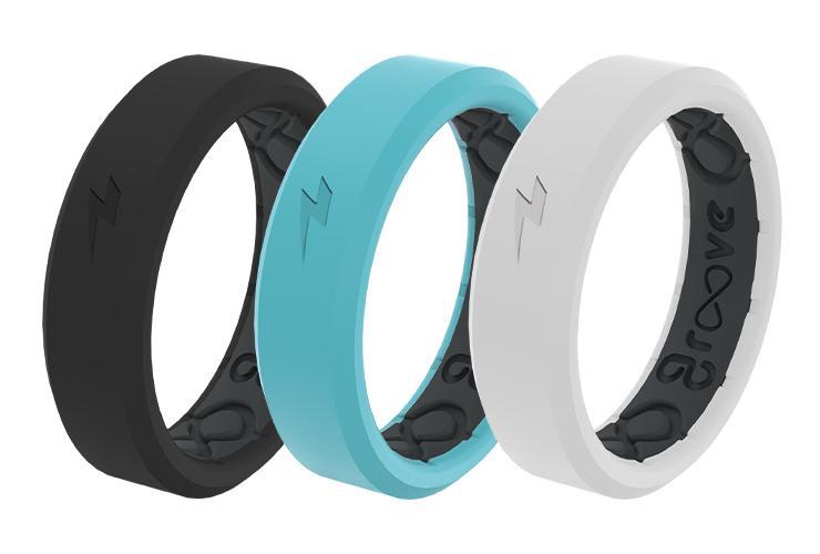 zeus anti-stretch thin silicone ring
