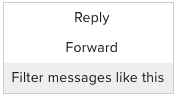 filter messages gmail