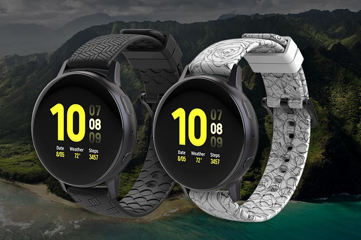 samsung watch band water resistant