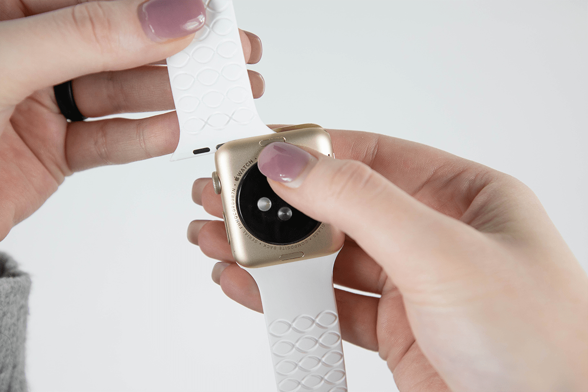 how to change your apple watchband