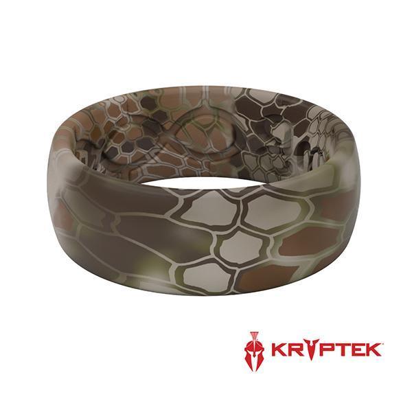 kryptek highlander silicone ring front view