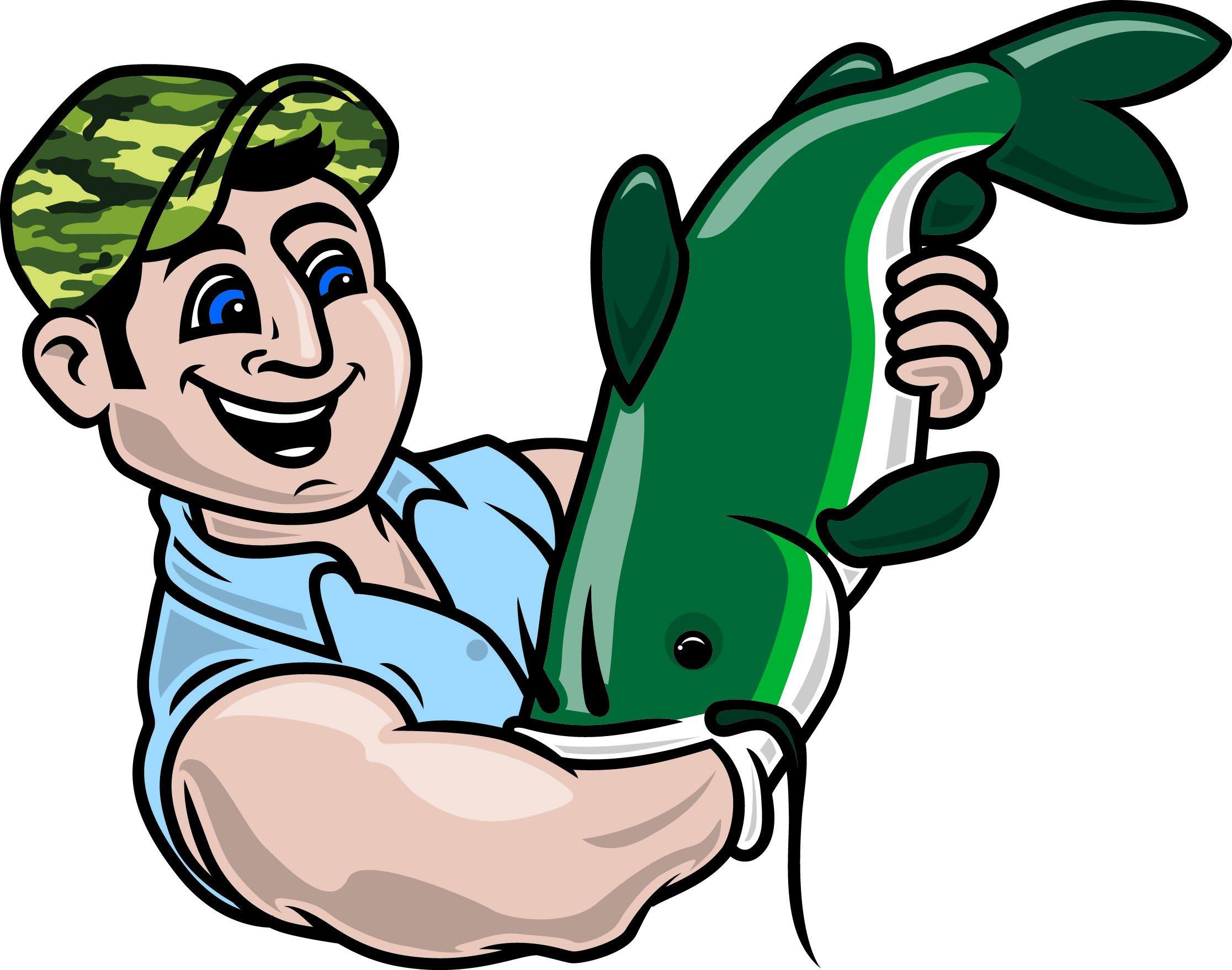 hand fishing for catfish