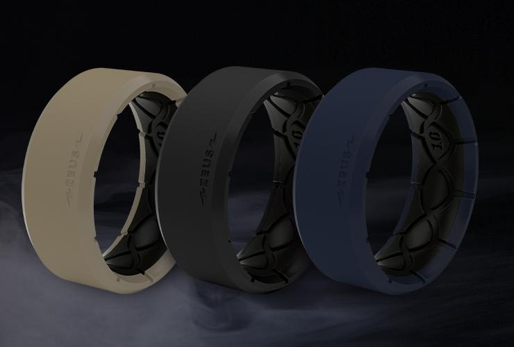 zeus breathable silicone ring