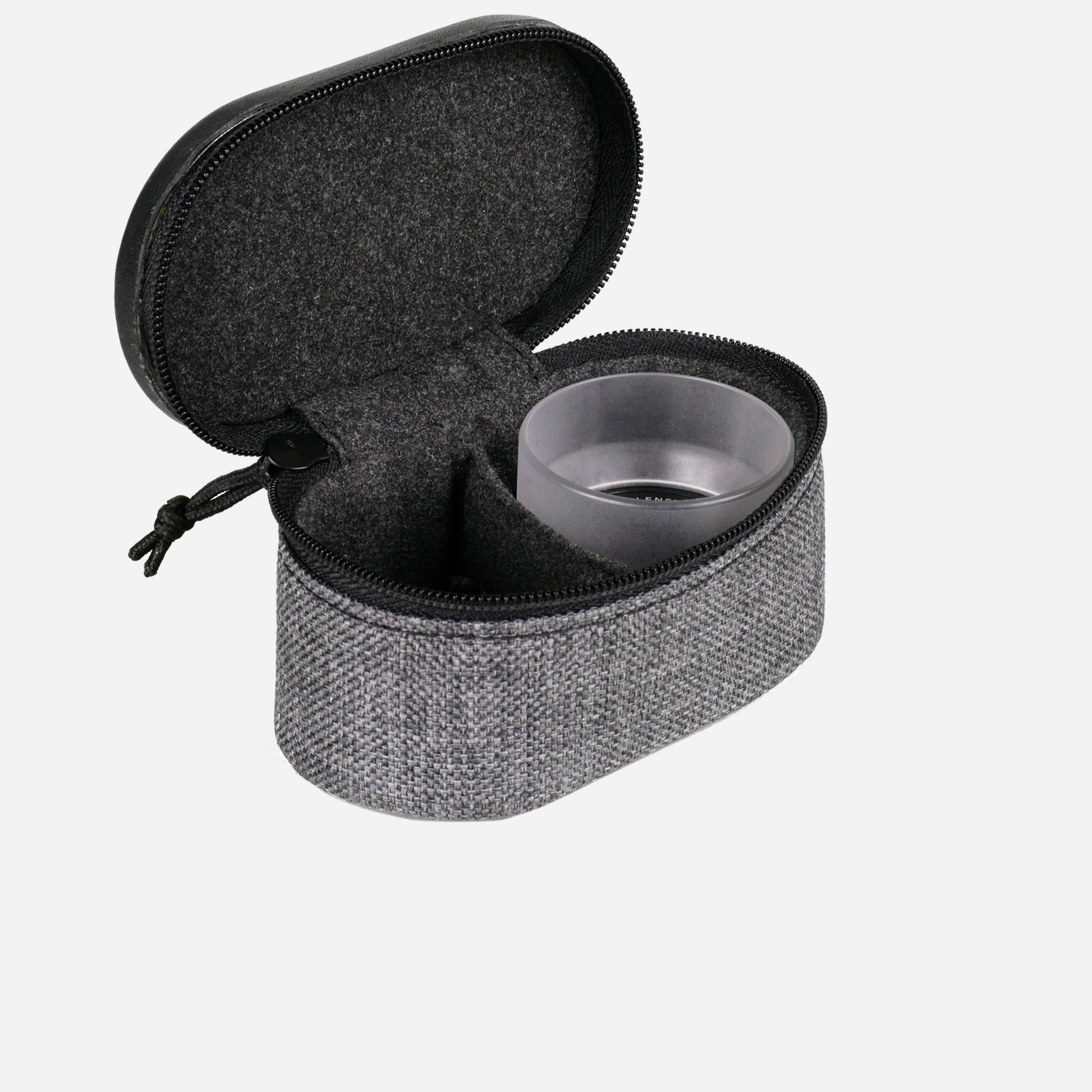Moment Lens Pouch Open with Lens Two