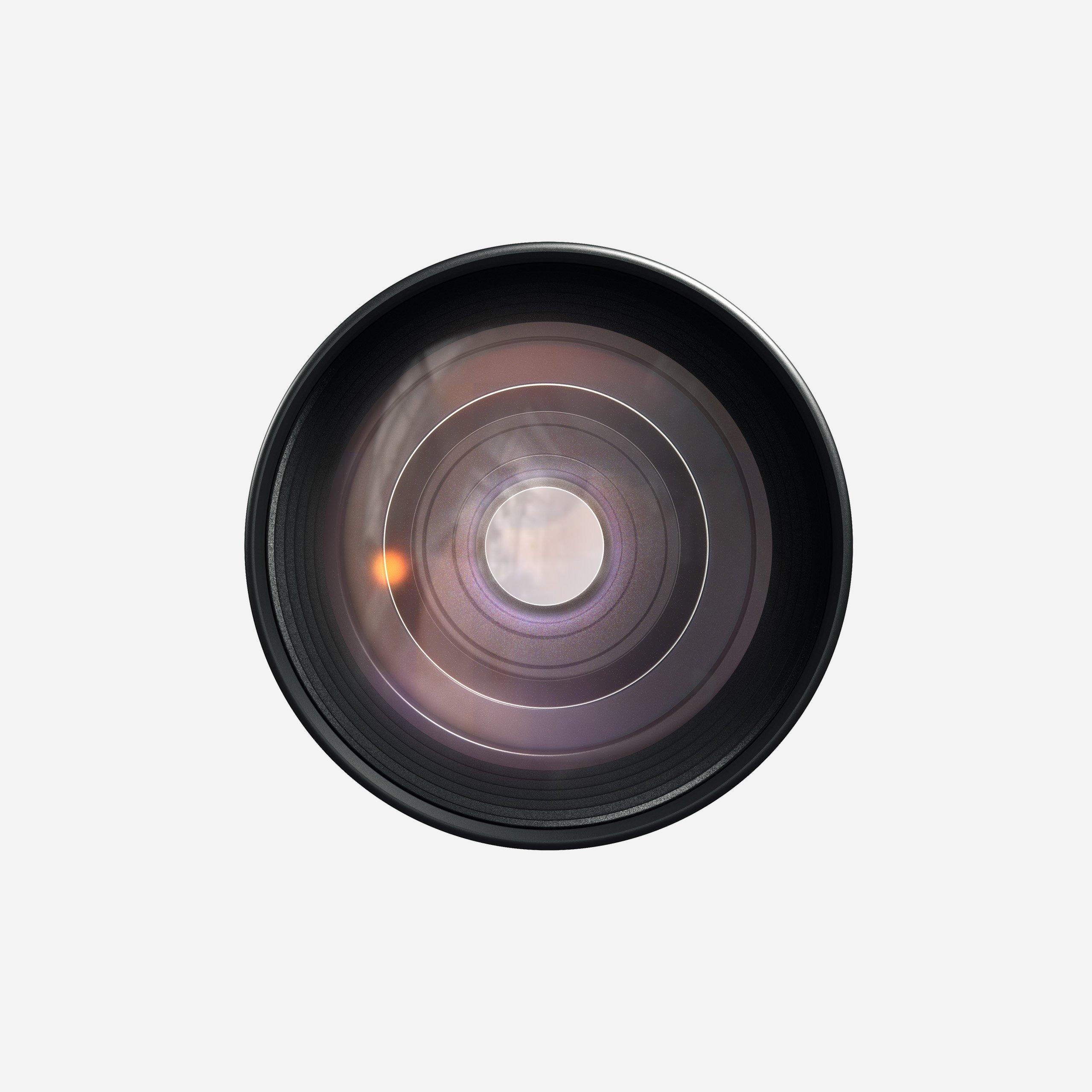Moment Tele 58mm Lens Front