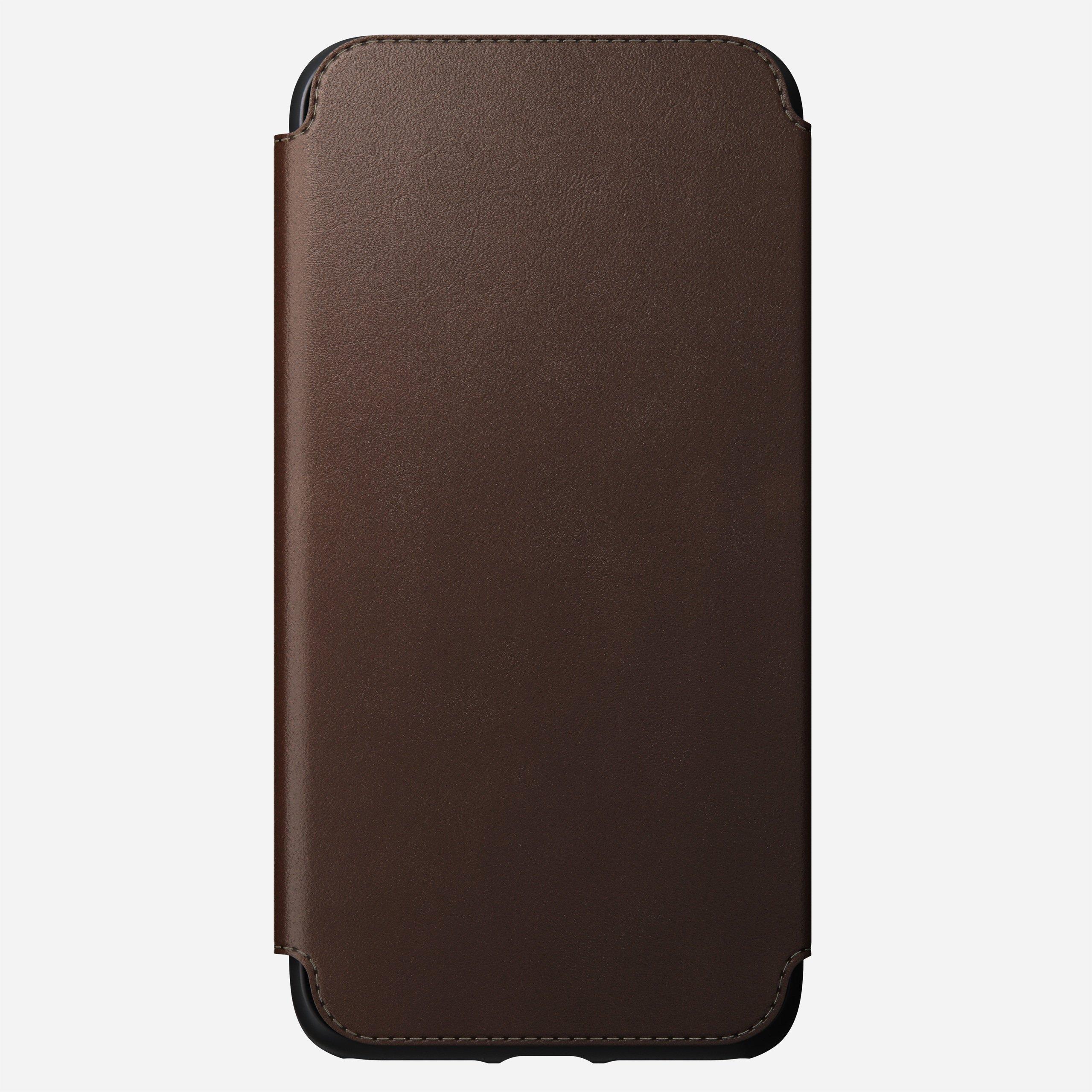Rugged tri folio rustic brown iphone 11 pro max