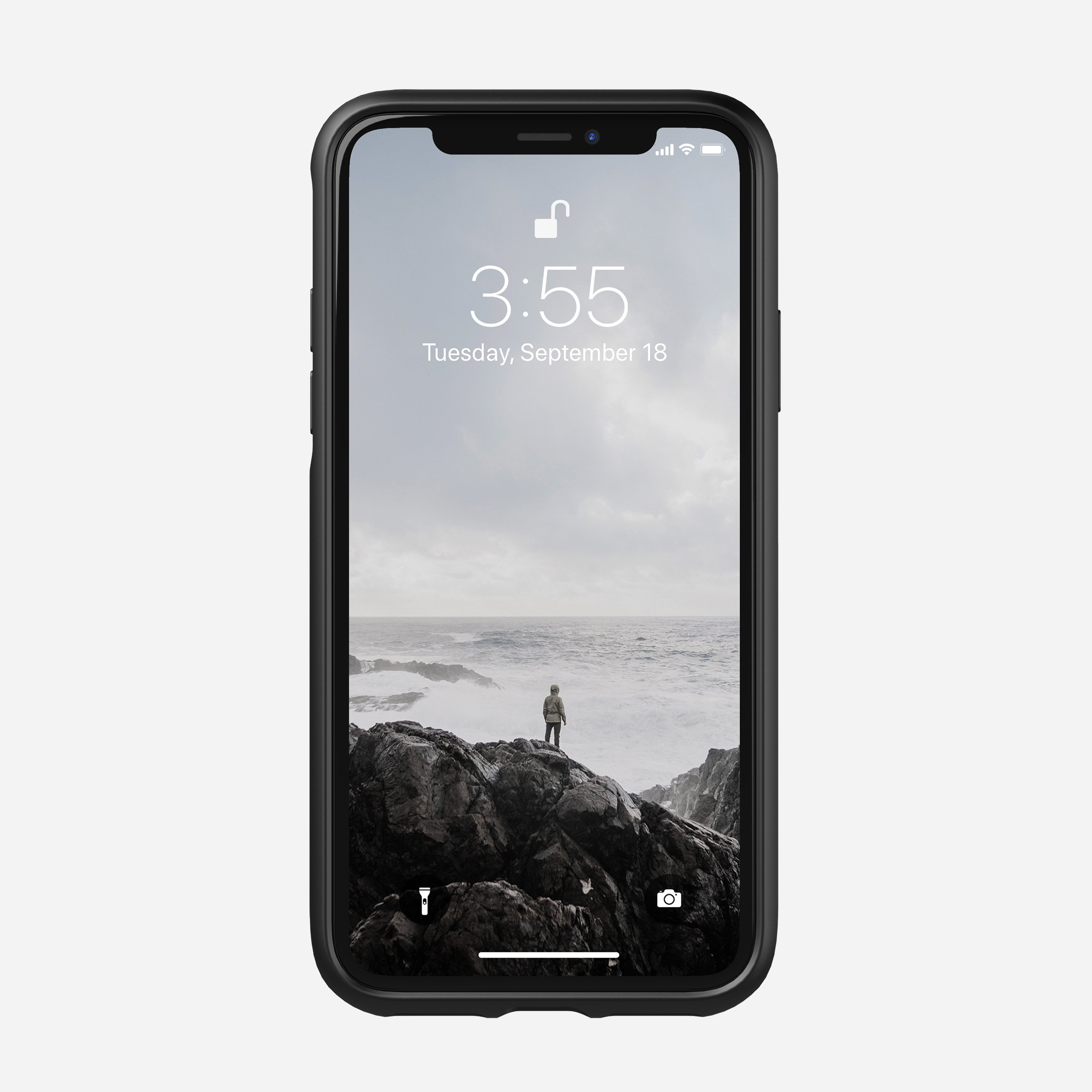 Rugged case black moment xs