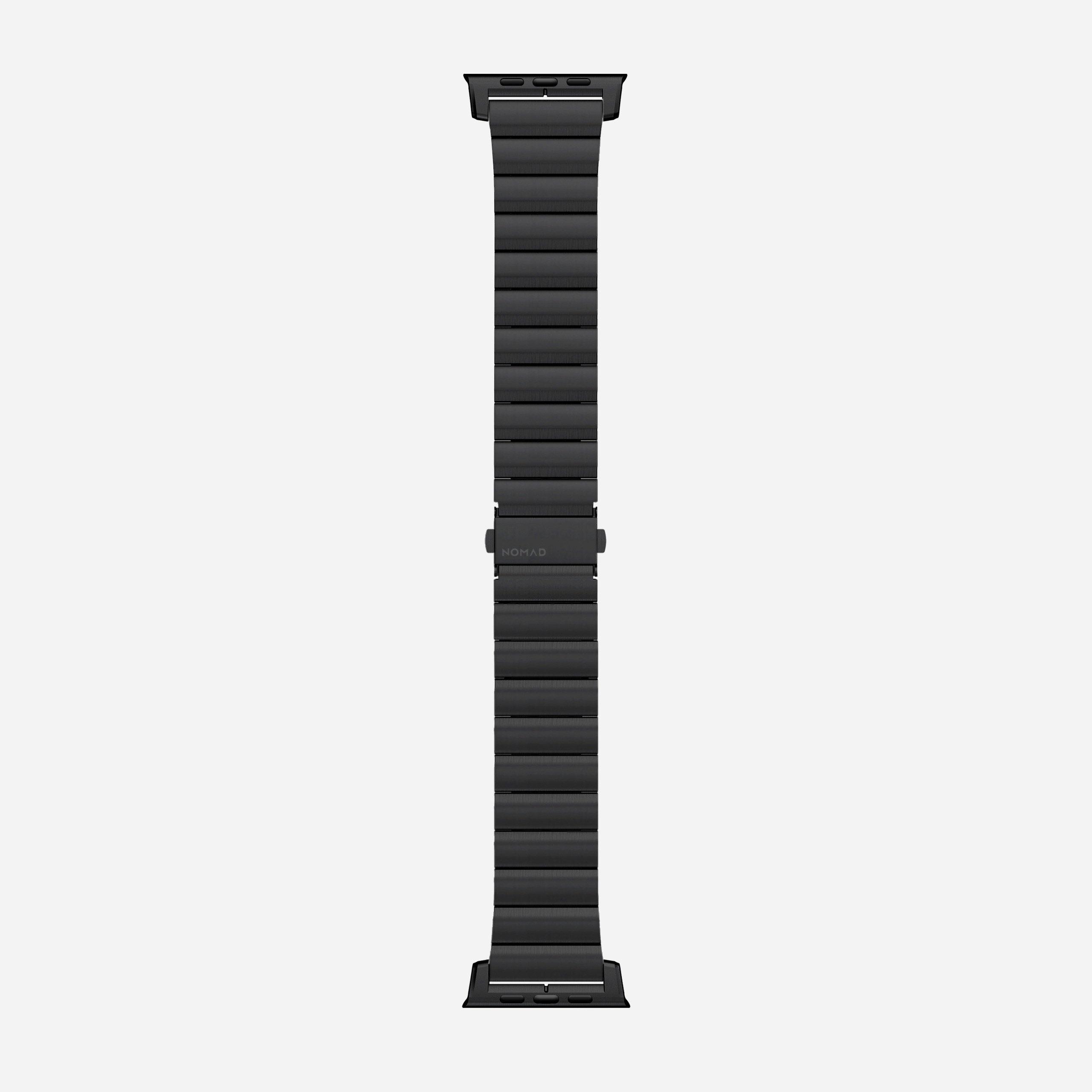 Steel band black hardware