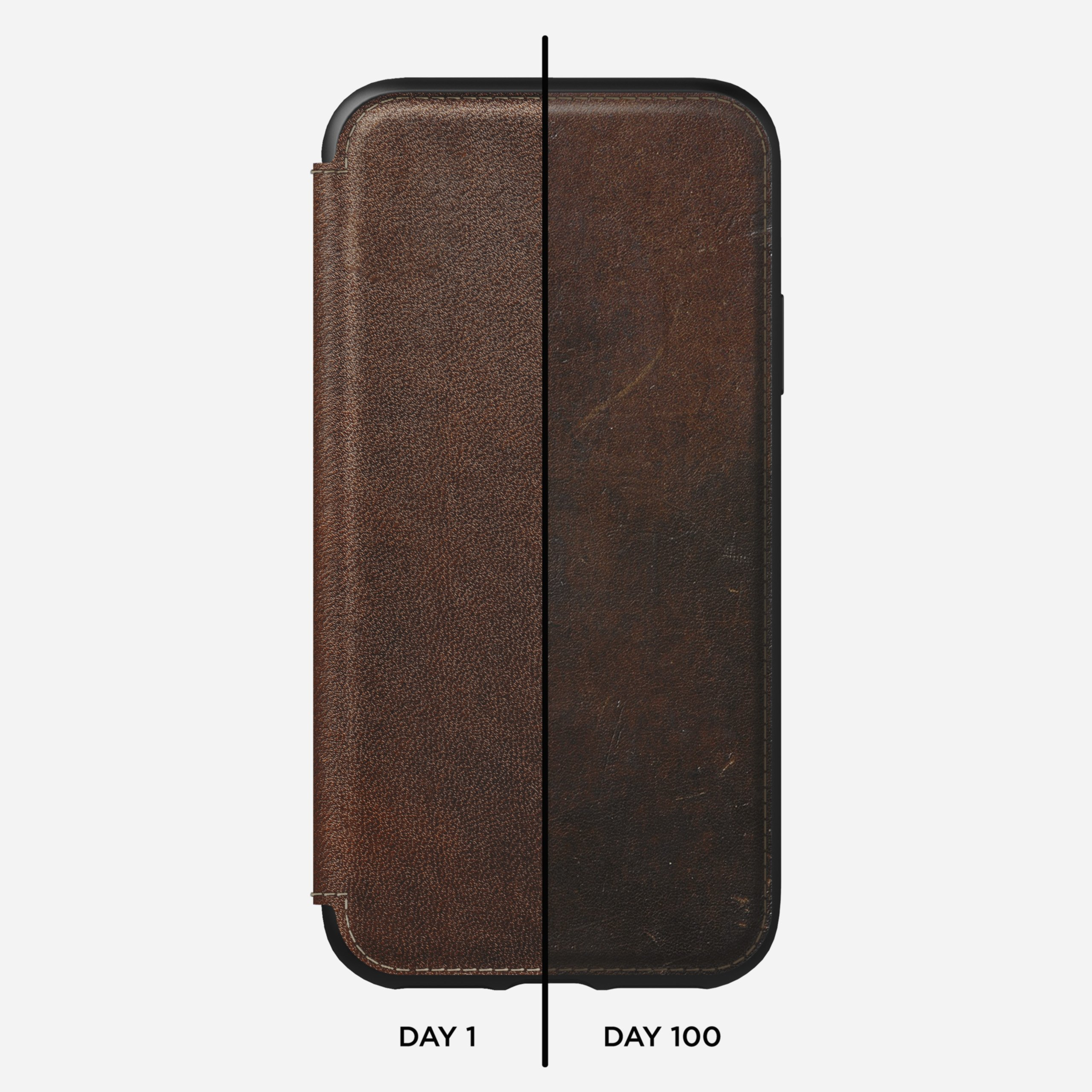 Tri folio rustic brown xs max
