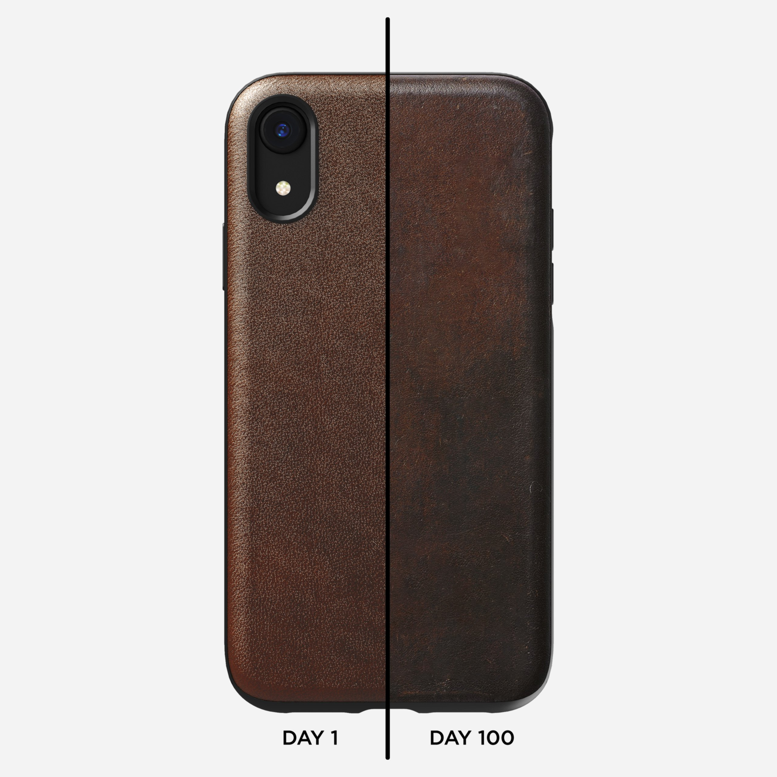 Rugged case rustic brown xr