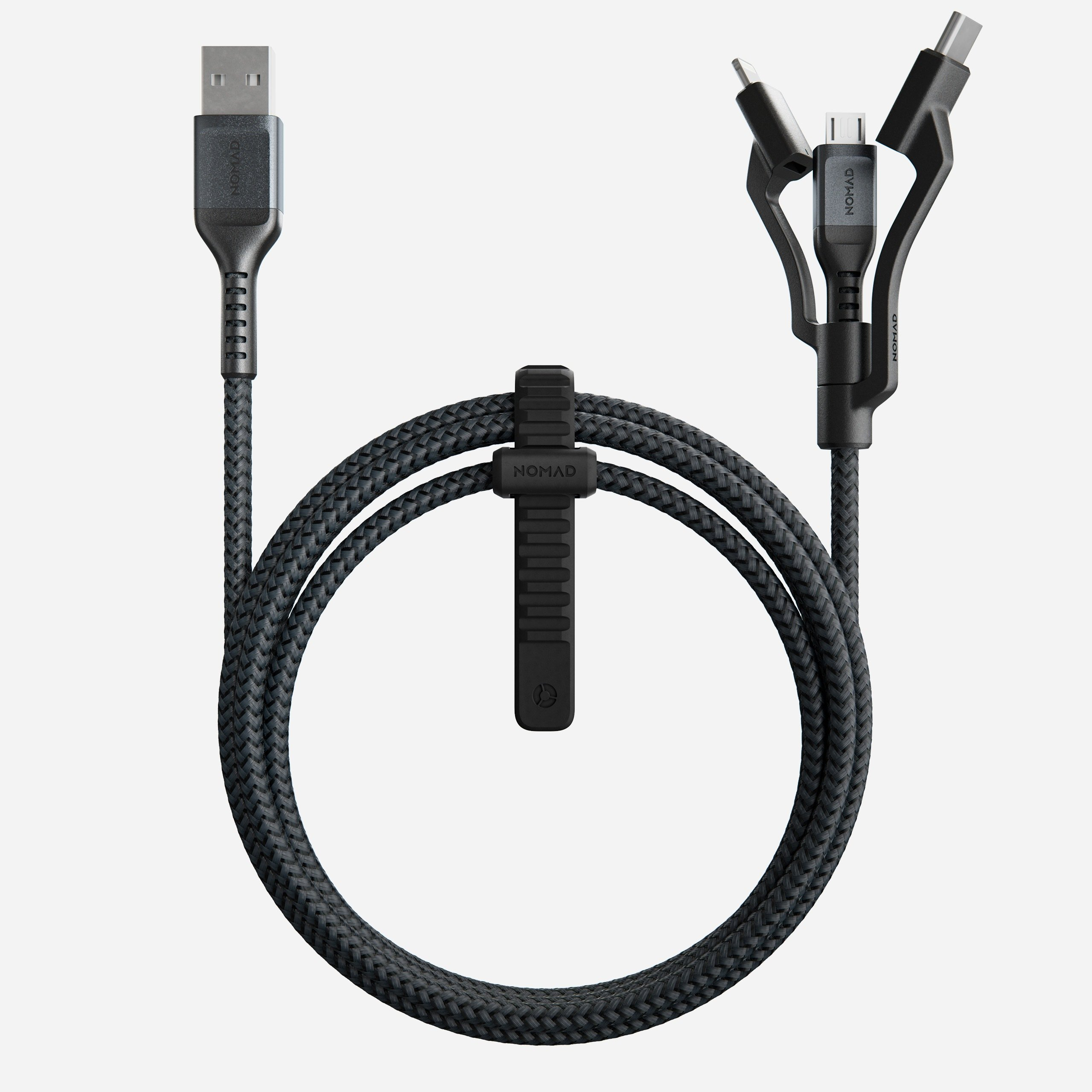Universal Cable USB-A 1.5m Side View