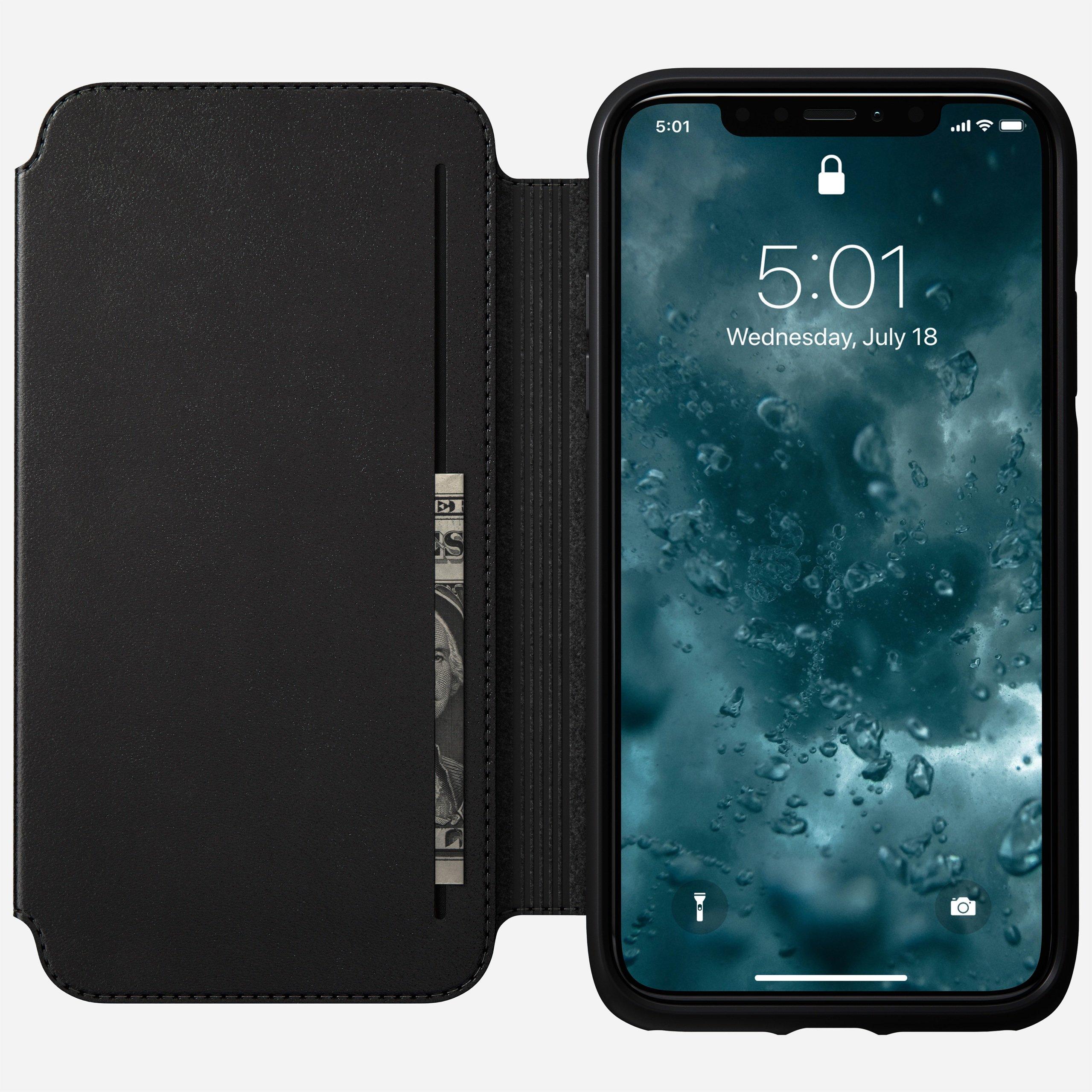 Rugged tri folio black iphone 11
