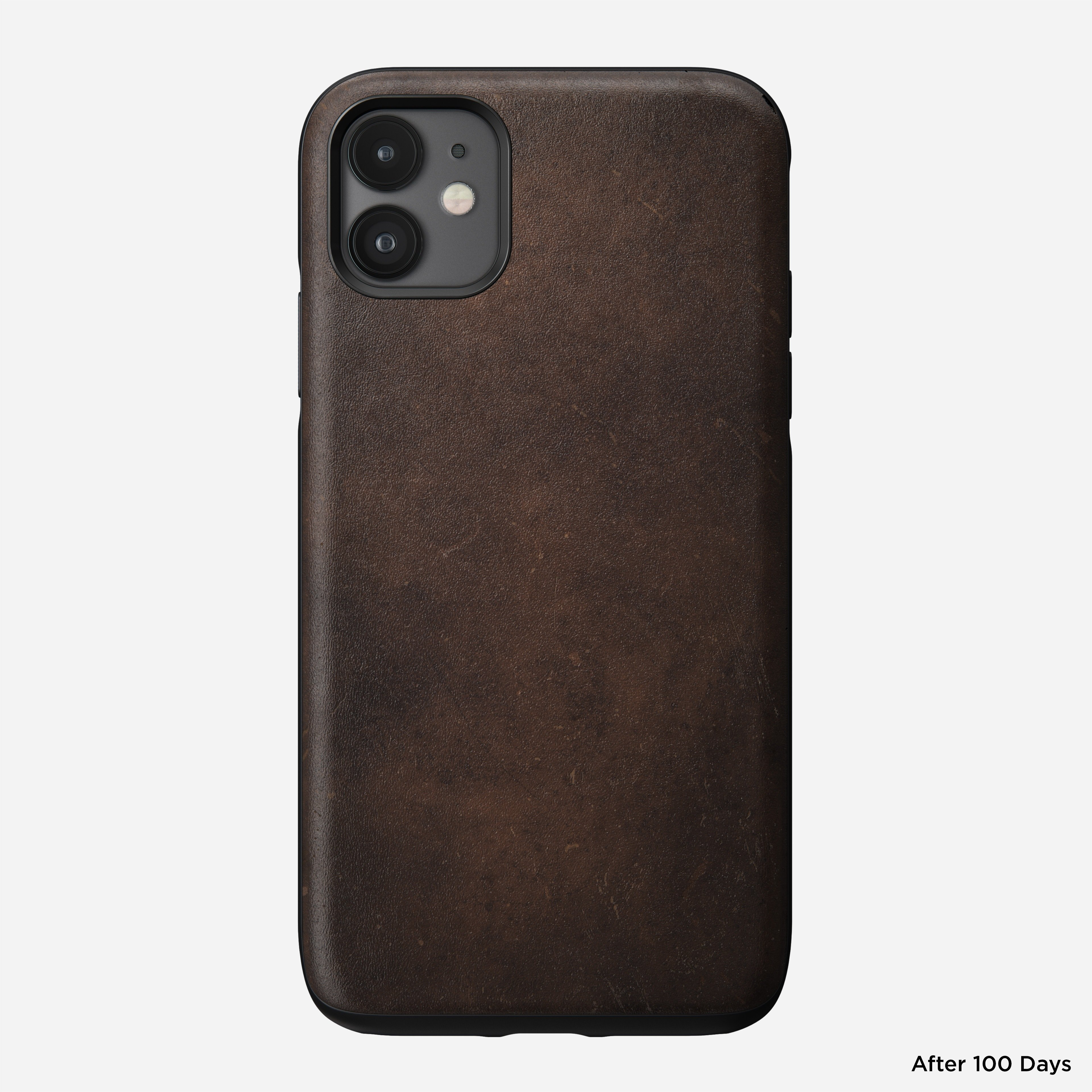 Rugged case rustic brown iphone 11