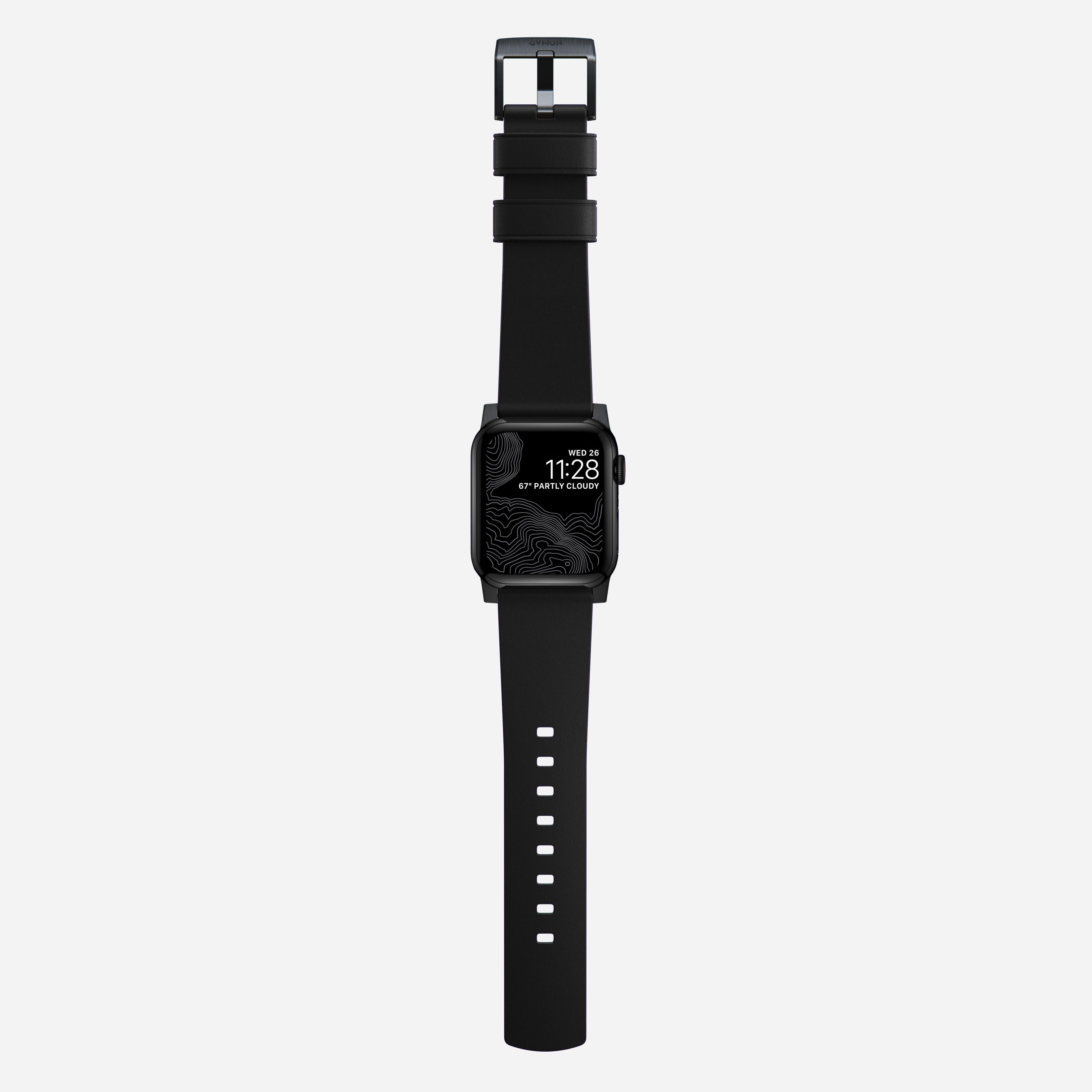 Active strap pro heinen leather black black hardware