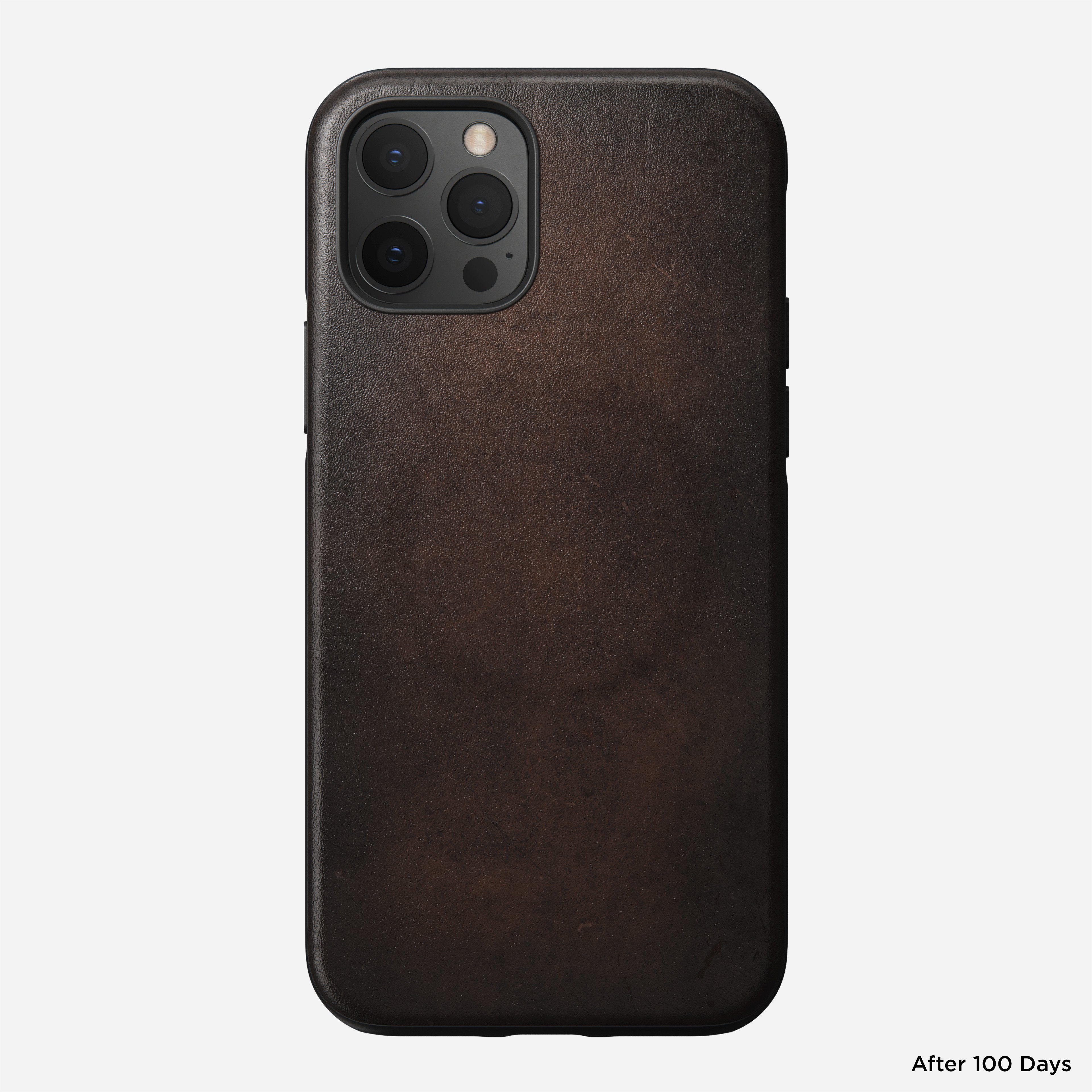 Rugged case magsafe horween leather rustic brown iphone 12 pro