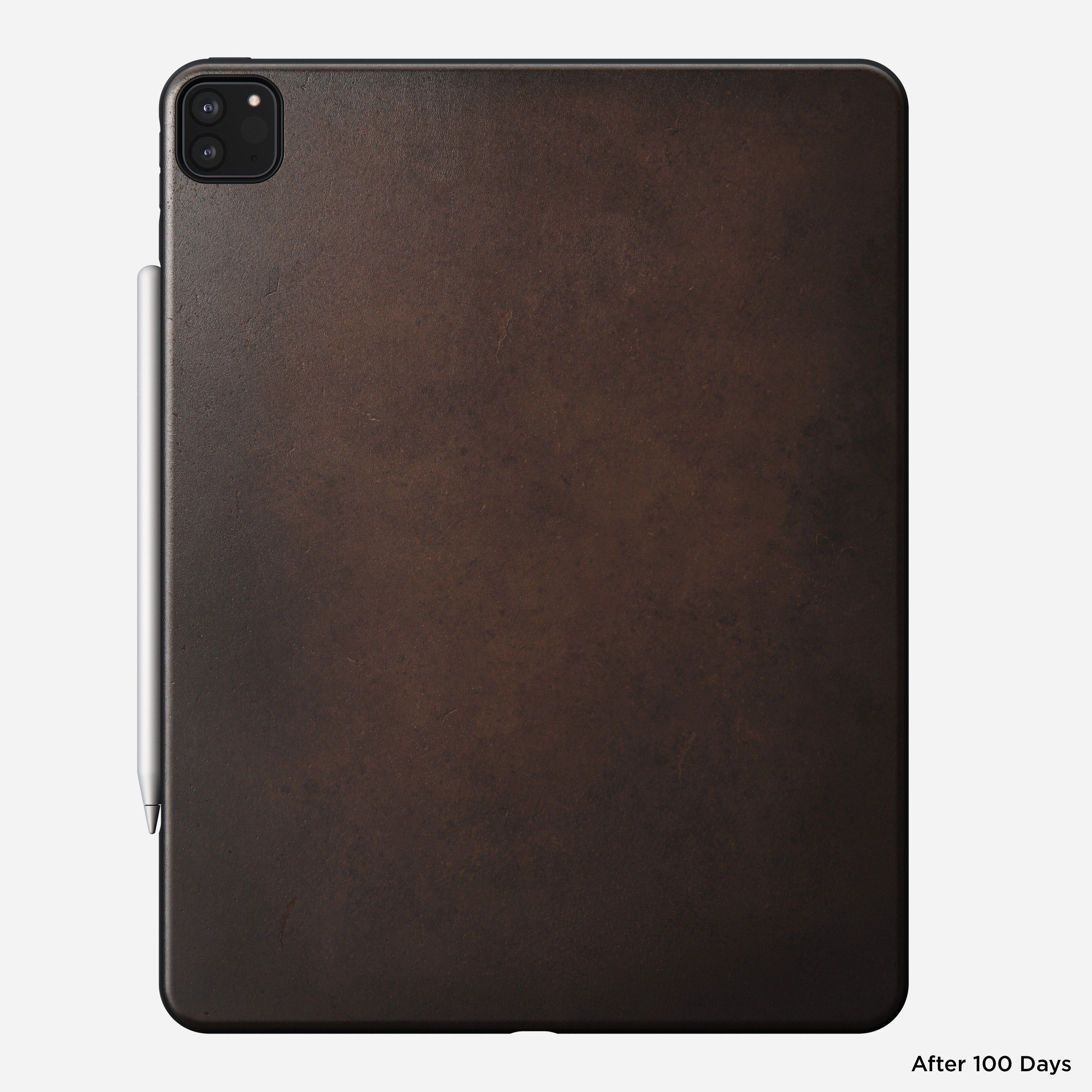 Rugged case horween leather rustic brown ipad pro 12 9 inch 4th generation