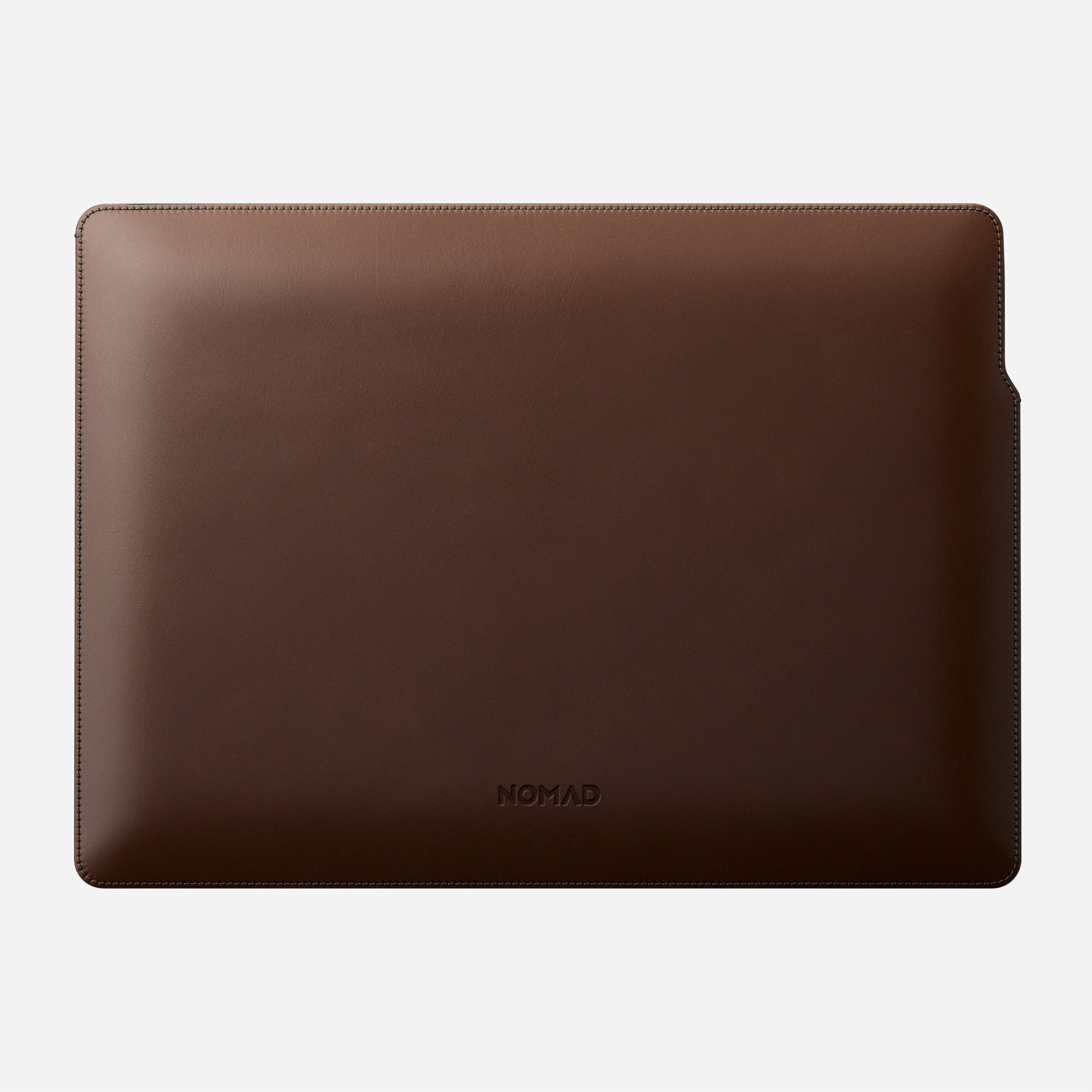 MacBook Pro Laptop Sleeve Horween Leather Front 16-inch