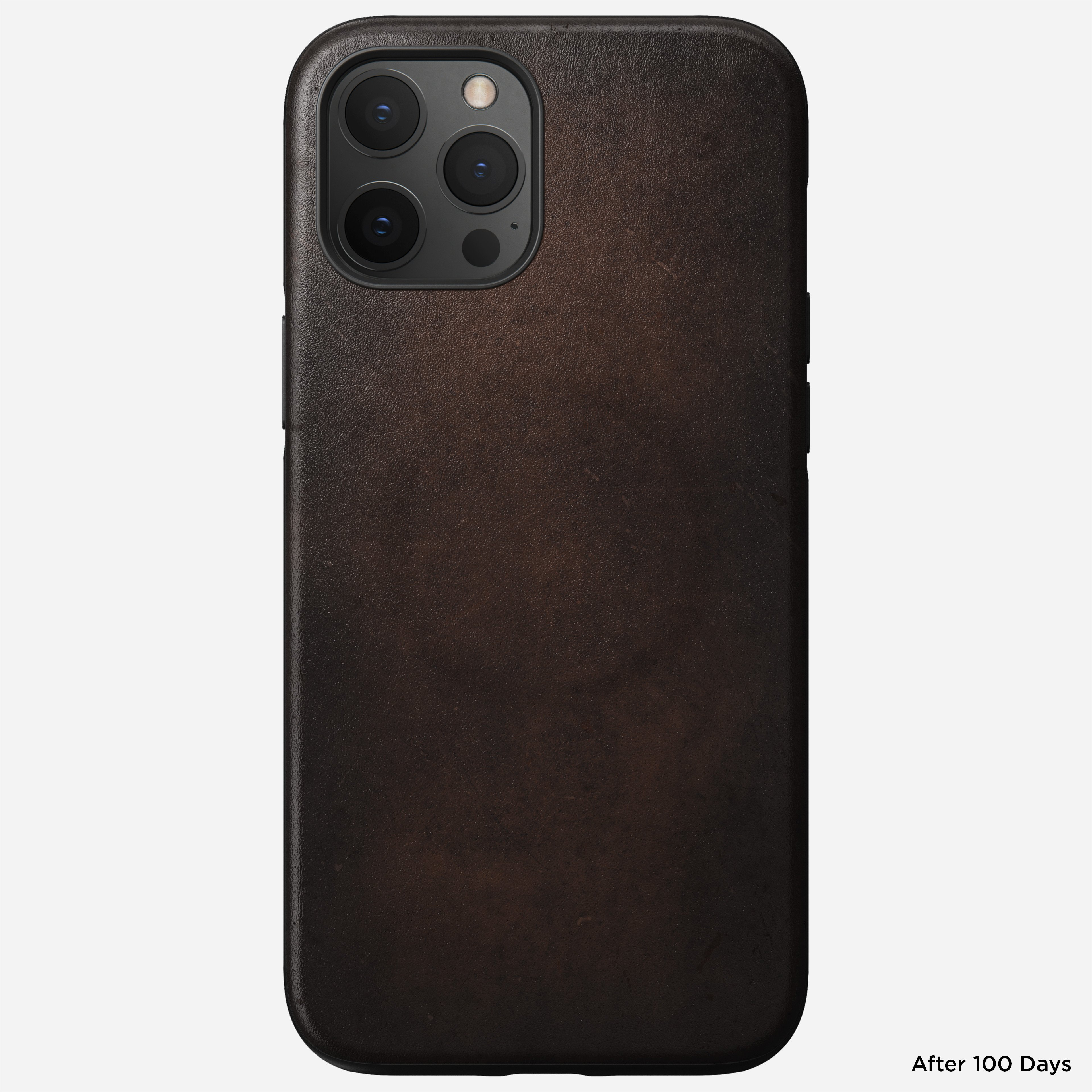 Rugged case magsafe horween leather rustic brown iphone 12 pro max