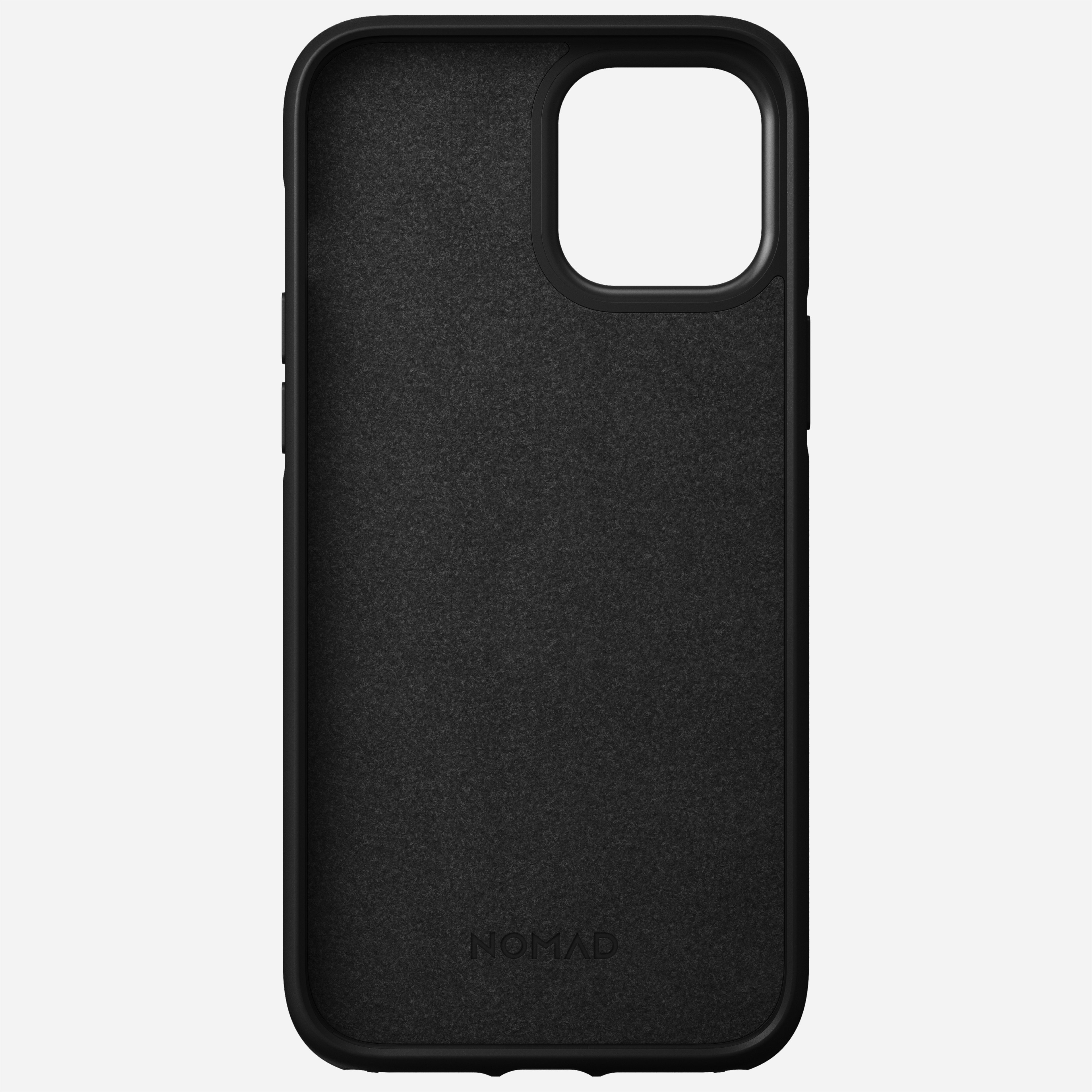 Rugged case horween leather black iphone 12 pro max