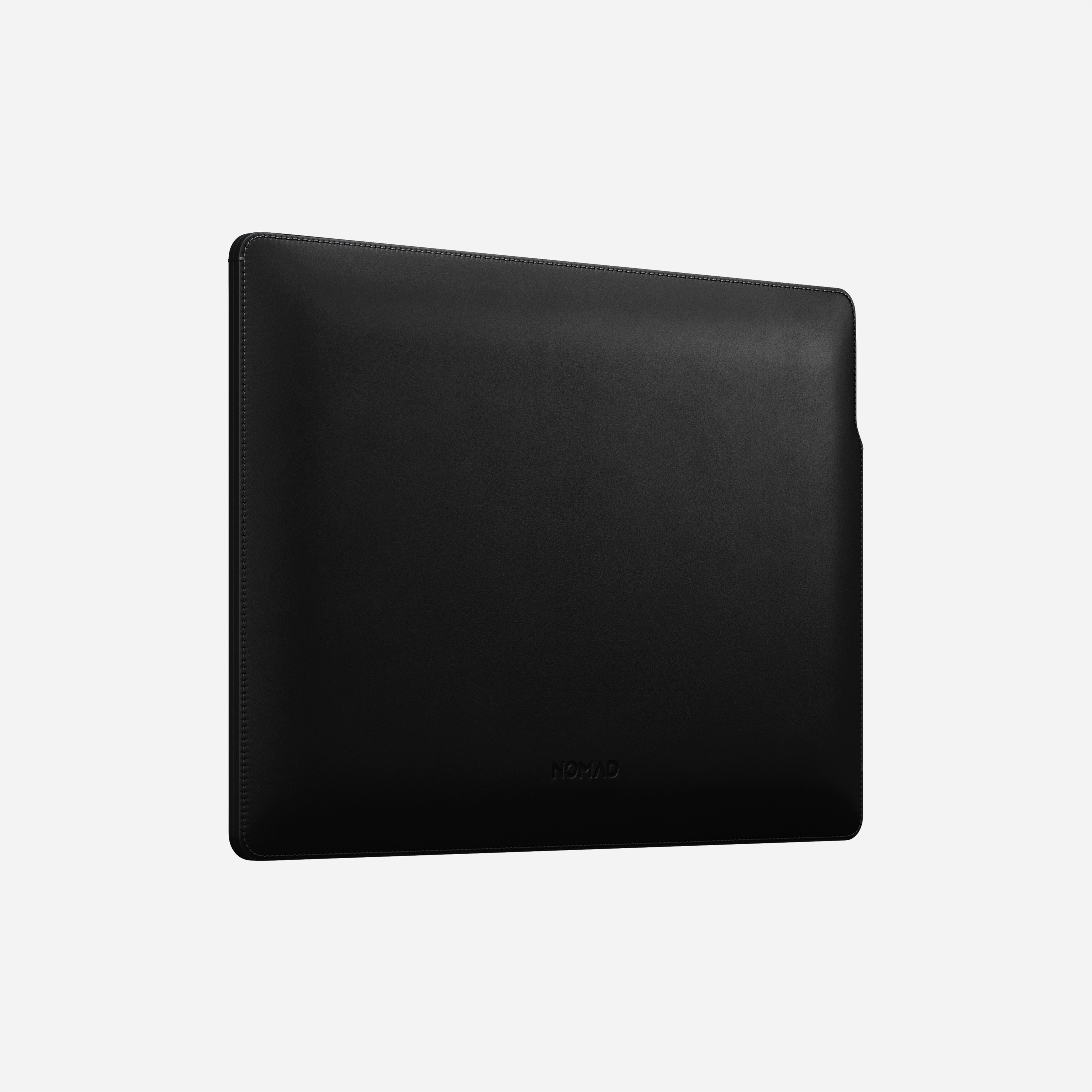 MacBook Pro Laptop Sleeve Horween Leather Angled View 13-inch