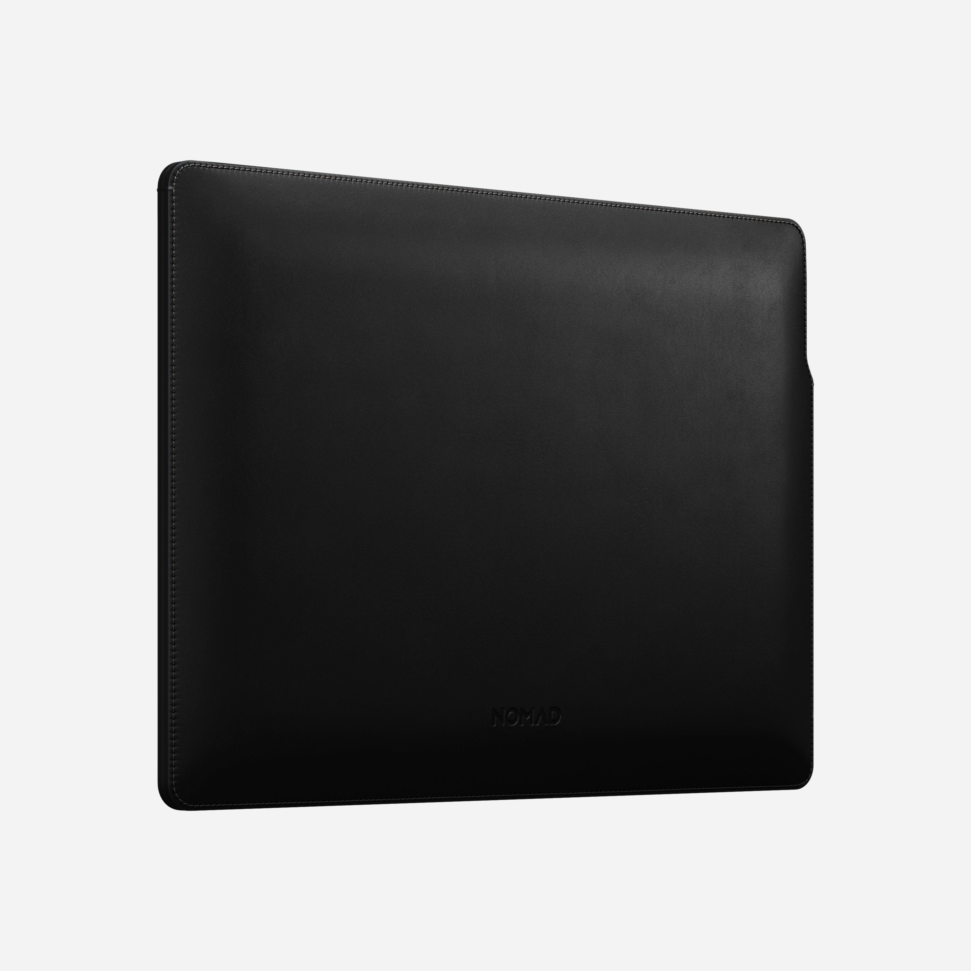 MacBook Pro Laptop Sleeve Horween Leather Angled View 16-inch