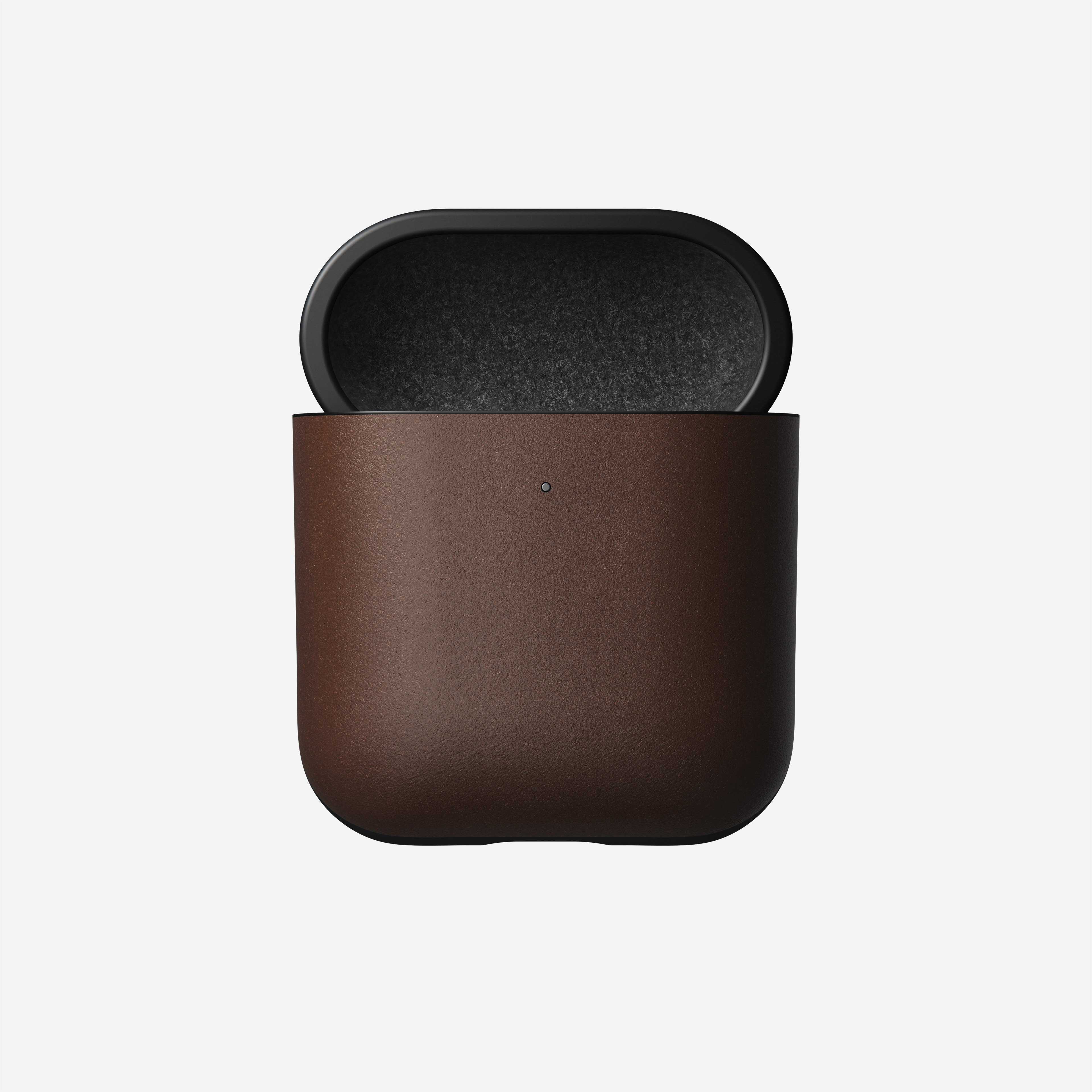 Rugged case airpods wireless rustic brown