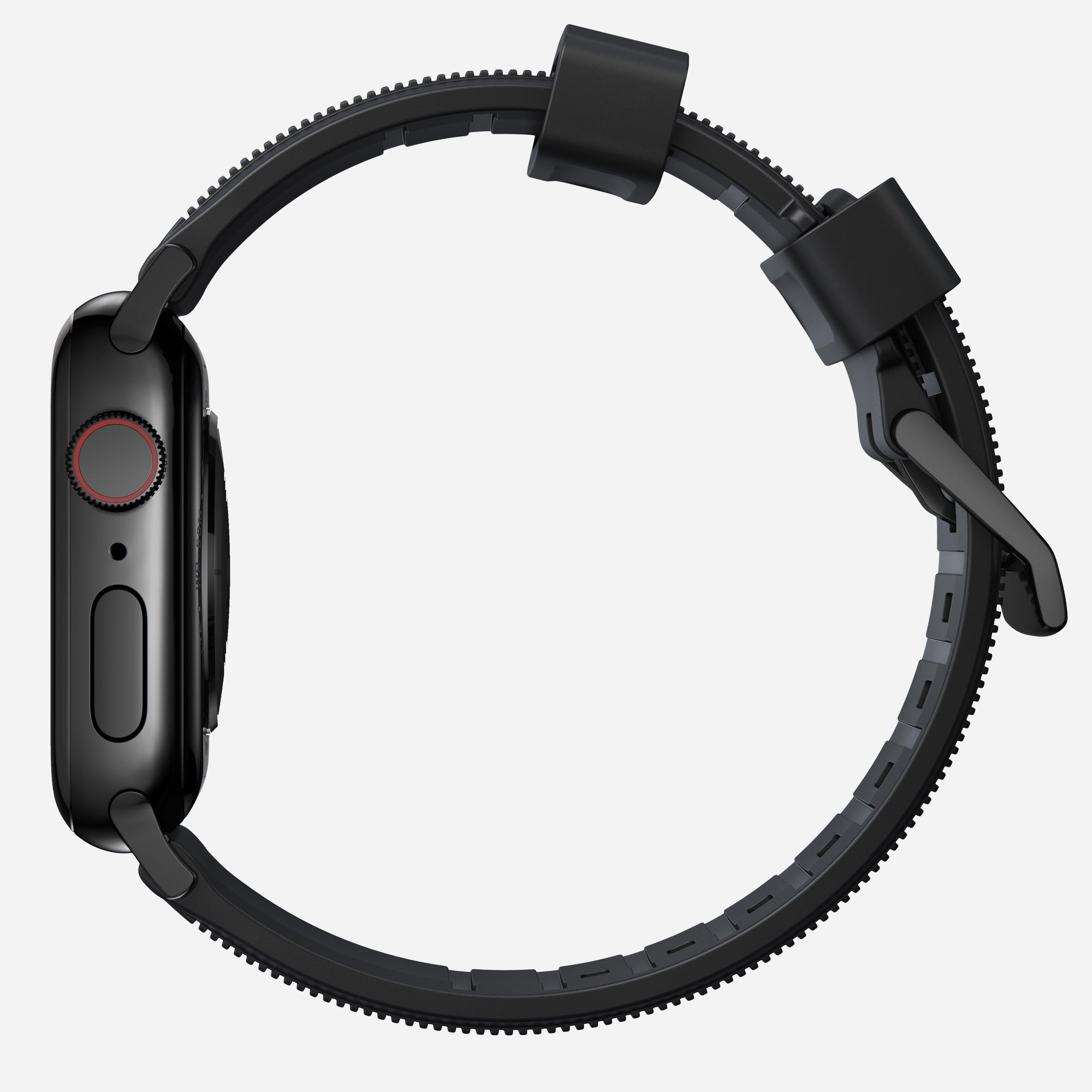 Rugged strap black hardware
