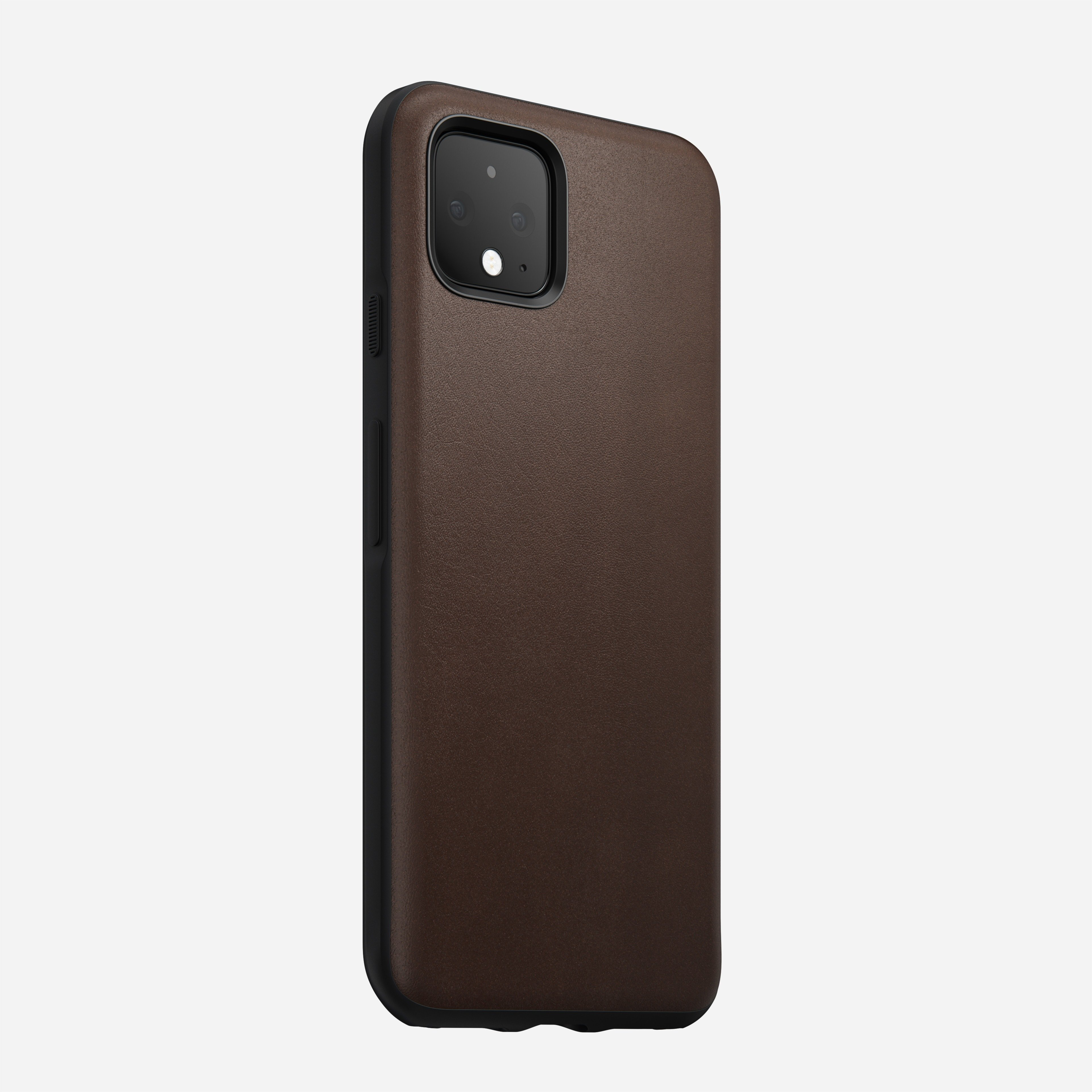 Rugged case rustic brown pixel 4