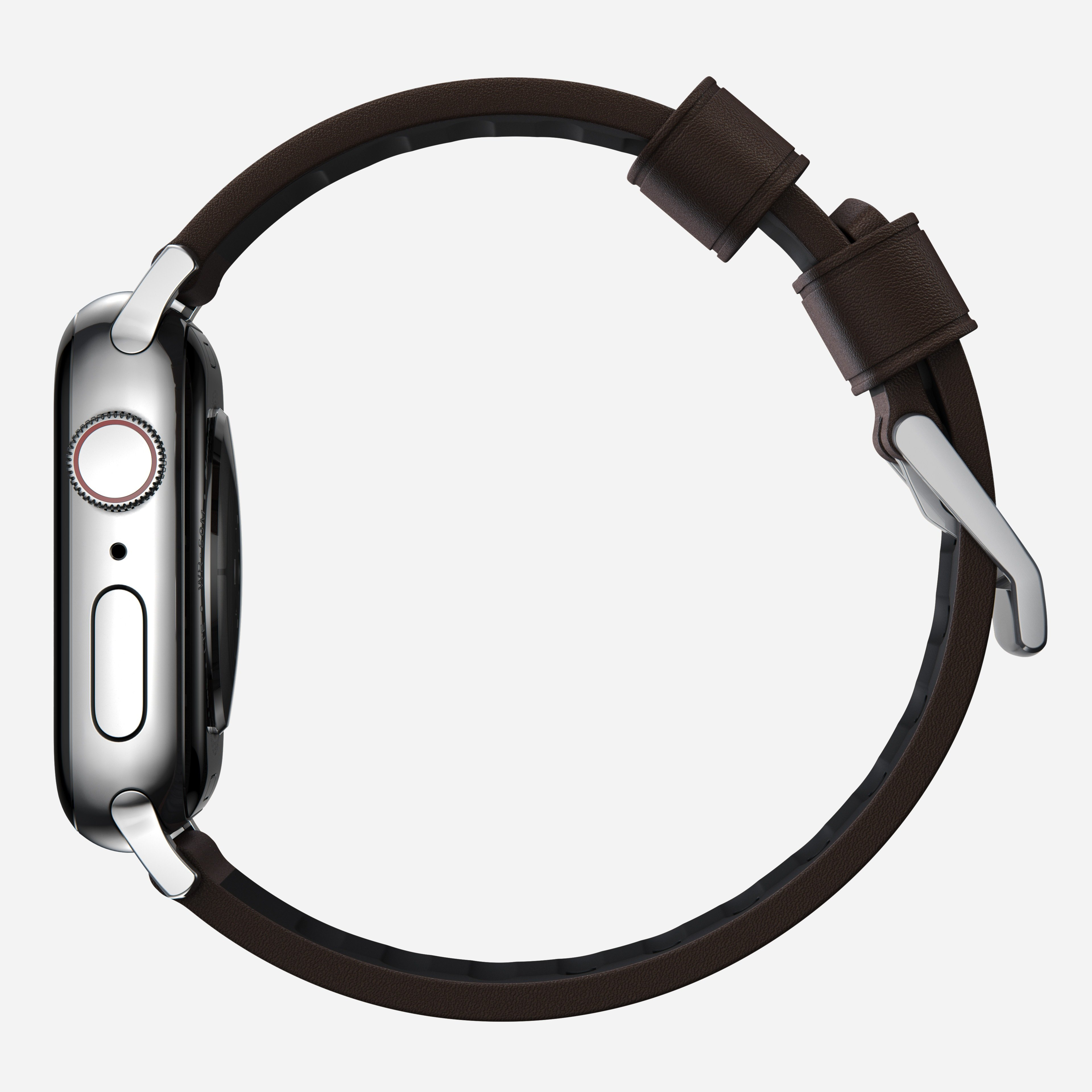 Active strap pro heinen leather classic brown silver hardware