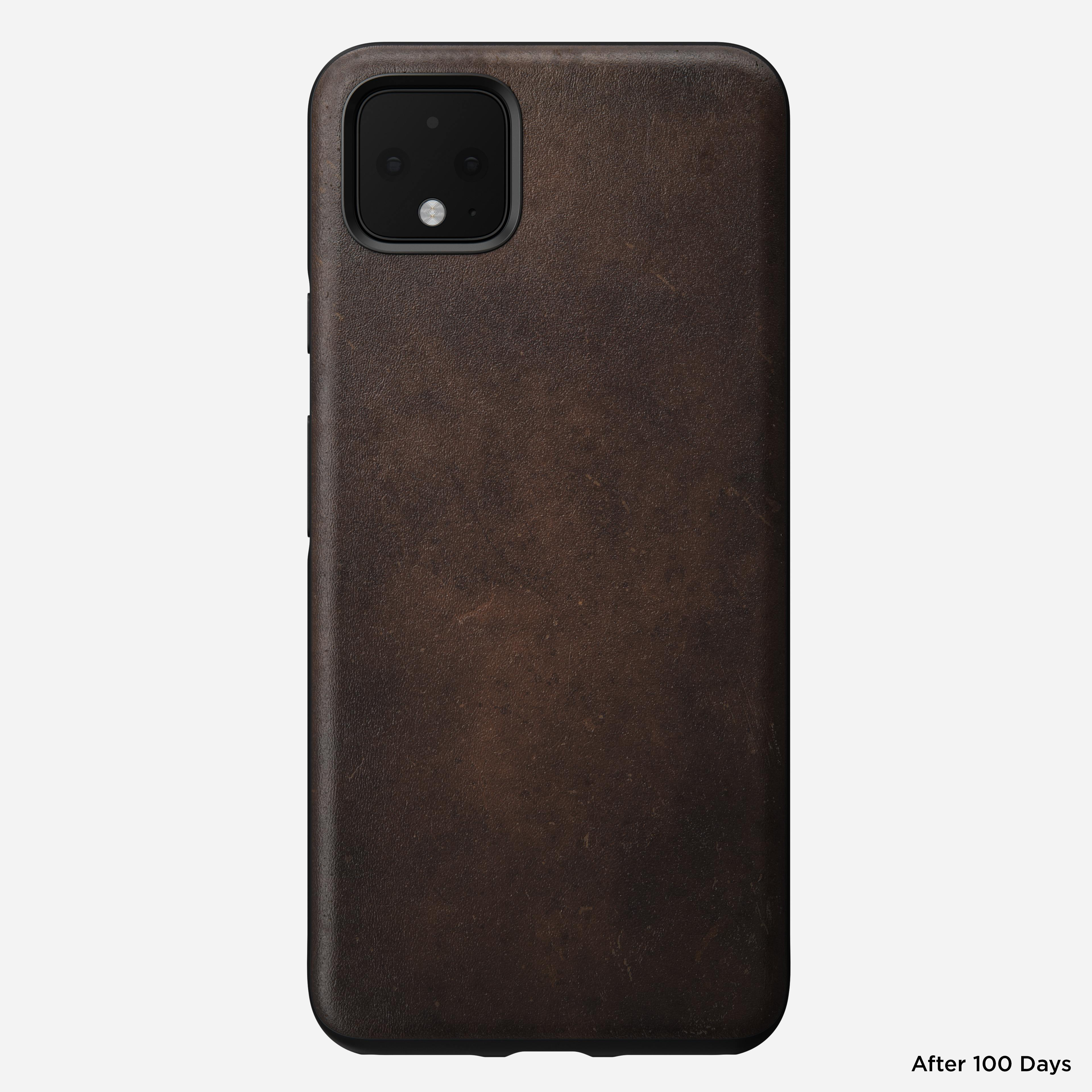 Rugged case rustic brown pixel 4 xl