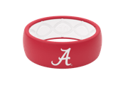 Original College Alabama Logo - Groove Life Silicone Wedding Rings