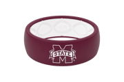 Original College Mississippi State - Groove Life Silicone Wedding Rings