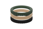 Aspen Stackable - Groove Life Silicone Wedding Rings