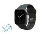 Apple Watch Band NFL Detriot Lions Black - Groove Life