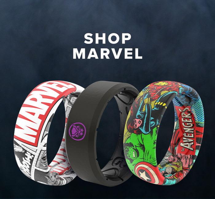 Shop Marvel Rings