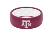 Original College Texas A&M - Groove Life Silicone Wedding Rings