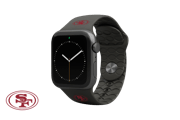 Apple Watch Band NFL San Francisco 49ers Black - Groove Life