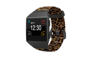 Fitbit Ionic Leopard Smoke Gray - Groove Life