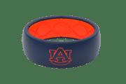 Original College Auburn Logo - Groove Life Silicone Wedding Rings