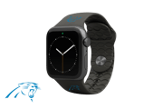 Apple Watch Band NFL Carolina Panthers Black - Groove Life