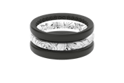 Rose Stackable - Groove Life Silicone Wedding Rings