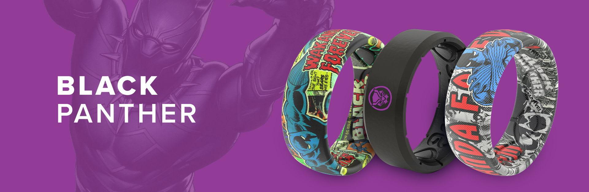 Black Panther Marvel Rings