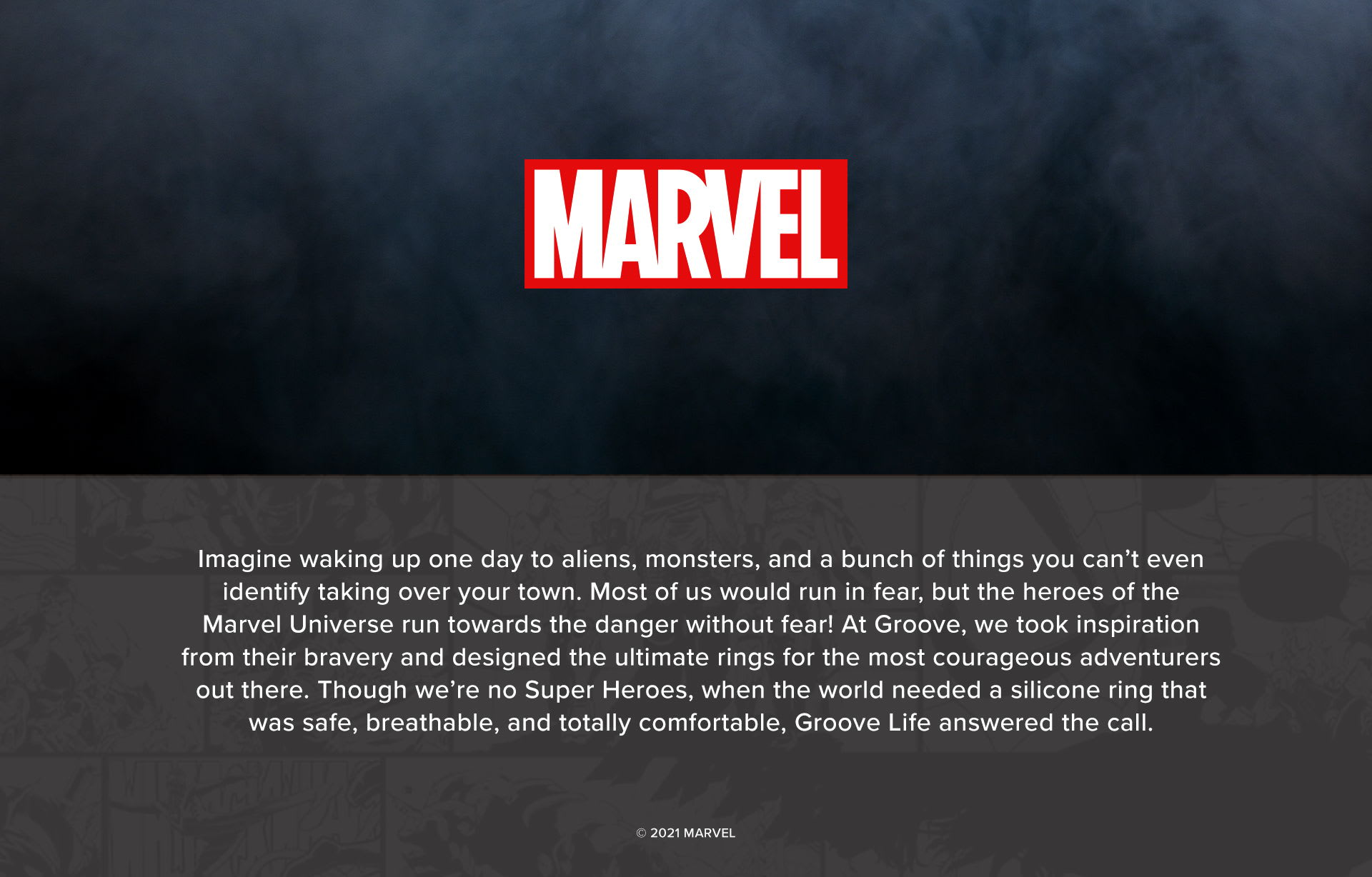 Marvel Groove Rings