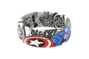 Captain America Black and White Comic - Groove Life