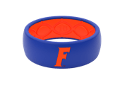 Original College Florida Logo - Groove Life Silicone Wedding Rings